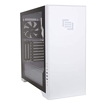 Amazon.com: MAINGEAR Vybe RGB Caja de ordenador ATX de media ...