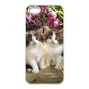 Customized case Of Cute Cat Hard Case for iPhone 5,5S