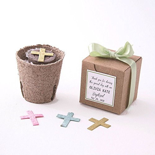 Plantable Seed Paper Cross Garden Kits - Set of (Plantable Cross)