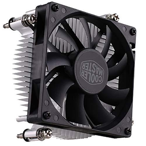 Cooler Master H116 (Copper Core) Low-Profile CPU Cooler - 80mm Slim Cooling Fan & Heatsink - for Intel Socket LGA 1150/1151 / 1155/1156 (H116)