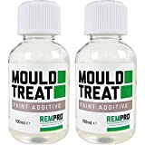 2 x 100ml Anti-Mould Paint additive for Paint. Concentrated Formula Treats up to 10 litres of Paint.
