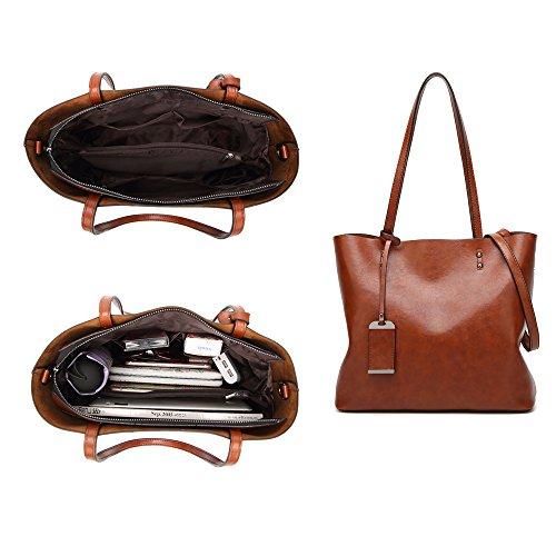 à Mode à Femmes Sac marron Top Noir Tote Message Purse Satchel bandoulière Sac Handle main HHpwZEq4x
