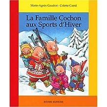 FAMILLE COCHON AUX SPORTS D'HIVER(LA)
