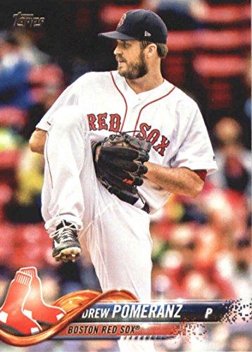 2018 Topps Series 2#483 Drew Pomeranz Boston Red Sox Baseball Card - GOTBASEBALLCARDS