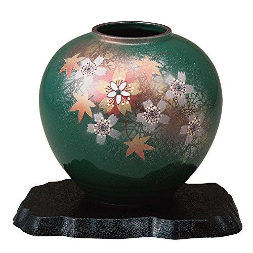 KUTANI YAKI(ware) Vase Dance of the Flower by Kutani