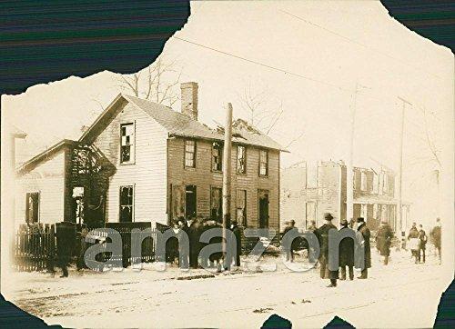 Vintage Photo of Ohio Race Riots in 1906 (ADJ-420)
