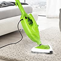 Finether Handheld Steam Cleaner | 10 in 1 Floor Steam Mops 1500W Powerful Non-Chemical Hot Steam Mops & Carpet | For Cleaning Home, Windows, Bathroom, Grout, Mold, Toilets and More