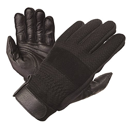 Olympia 150 Airflow I Classic Motorcycle Gloves (Black, X-Large)