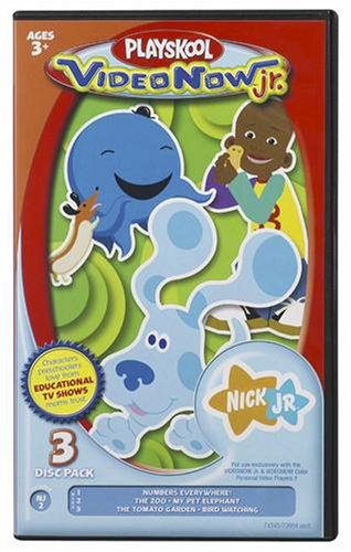 Videonow Jr. Personal Video Disc 3-Pack: Nick Jr. #2