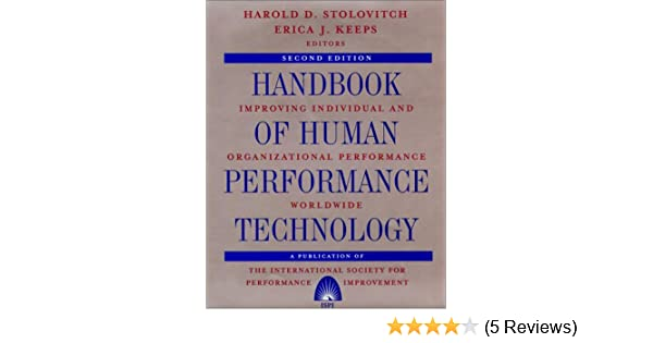 Handbook Of Human Performance Technology Improving Individual And
