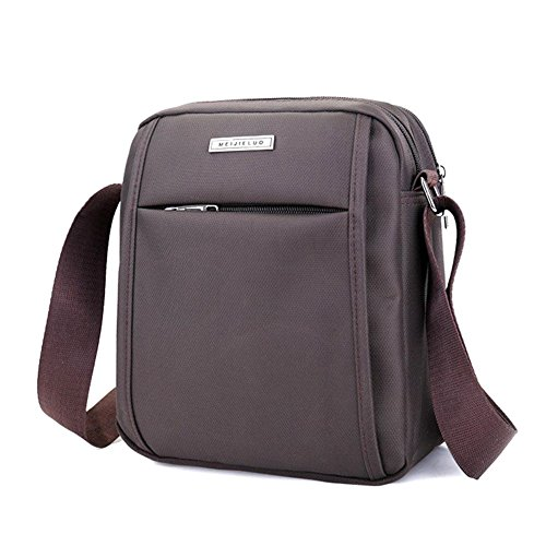 Waterproof Shoulder Satchel For Purse Messenger Small Ipad Corssbody Men Coffee Bag Badiya twC56qC