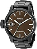 Nixon Men's A198712-00 Chronicle SS Analog Display Swiss Quartz Black Watch