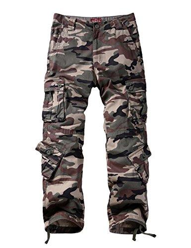 Match Men's Wild Cargo Pants(36,Gray max)