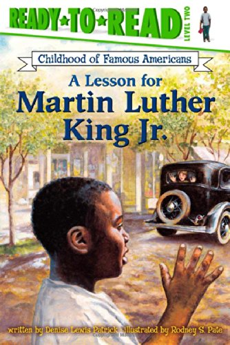 A Lesson for Martin Luther King Jr. (Ready-to-read COFA) (The Childhood Of Martin Luther King Jr)