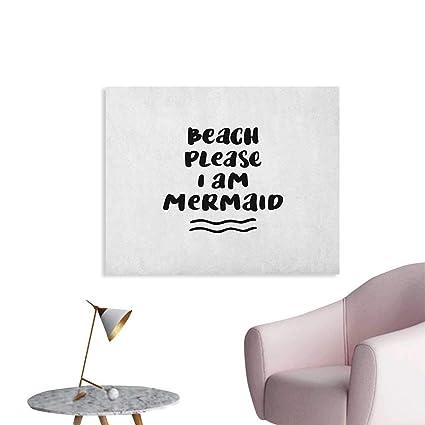 Amazoncom Anzhutwelve Im Mermaid Photographic Wallpaper