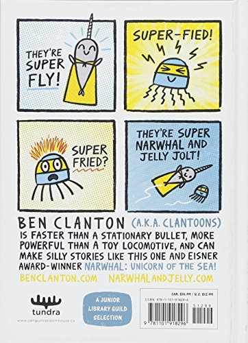 Super Narwhal and Jelly Jolt (A Narwhal and Jelly Book #2) by TUNDRA (Image #1)