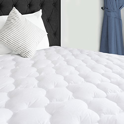 SERWALL Mattress Pad Cover Full Size 8-21