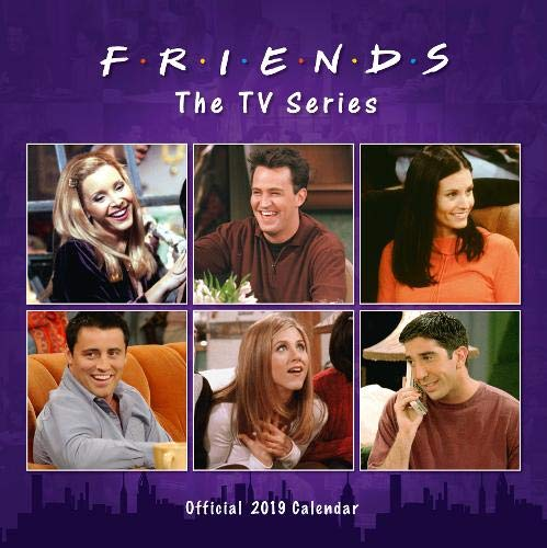 Friends Official 2019 Calendar - Square Wall Calendar Format