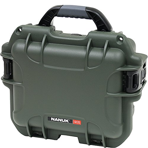Nanuk 905 Waterproof Hard Case with Padded Dividers - Olive by Nanuk