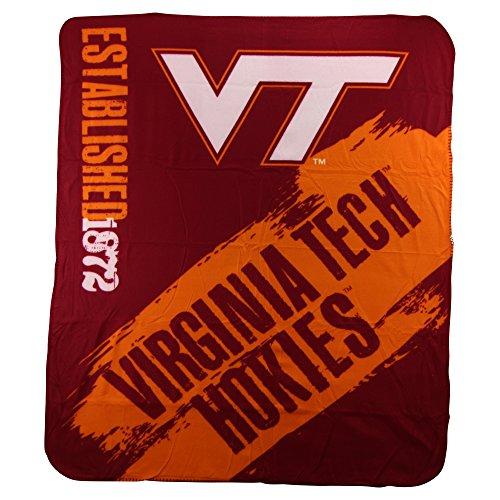 The Northwest Company NCAA Collegiate School Logo Fleece Blanket (Virginia Tech Hokies)