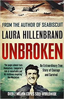 The life of louis zamperini during world war ii in unbroken a book by laura hillenbrand