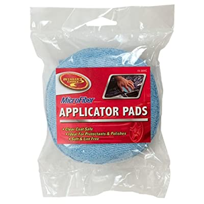 Detailer's Choice 9-28MC Microfiber Pad, 2 Pack: Automotive
