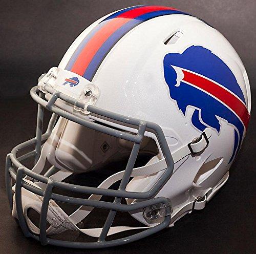 Riddell Speed BUFFALO BILLS NFL REPLICA Football Helmet with S2BDSP Football Helmet Facemask/Faceguard