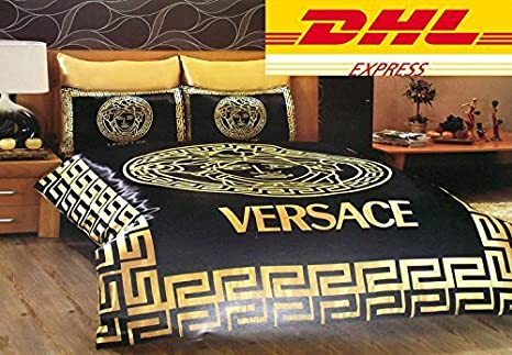 Biancheria Da Letto Versace.Versace New Lenzuola In Satin Dhl Express Shipping Queen