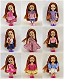 Lot 6 PCS Fashion Clothes Outfit for Barbie's sister Kelly Doll