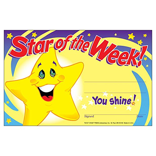 Star of the Week! Recognition -