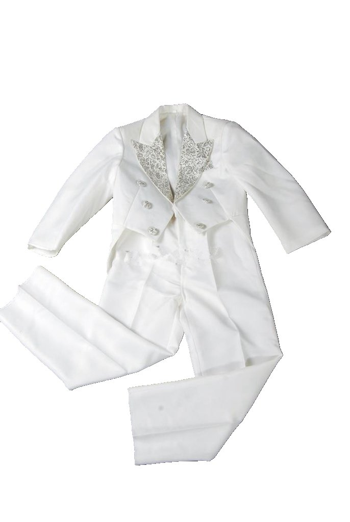 MLT Boy's Long Swallow-tail 3-piece Wedding Party Suits (XL)