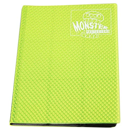 Monster Protectors Carpeta 9 Pocket Monster Carta Amarillo ...