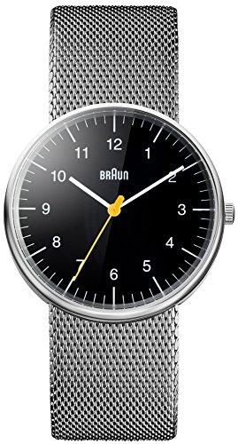 Braun Unisex BN0021 Classic Watch BN0021BKSLMHG