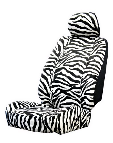 Plasticolor 006599R01 Zebra Wild Skinz Seat Cover for sale  Delivered anywhere in USA