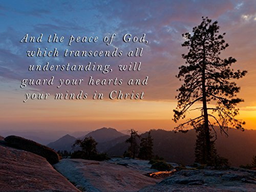 Religious Poster Inspirational Quote Scripture Church Decor God 15