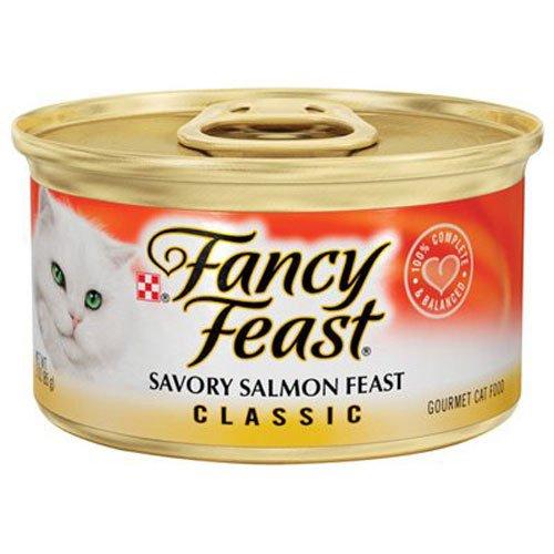 Price comparison product image Fancy Feast Gourmet Salmon Feast Cat Food,  3 oz