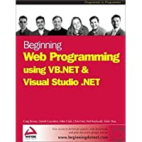 Beginning Web Programming using VB.NET and Visual Studio