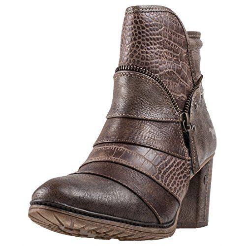 Shoes Gris Boots Braun 517 Mustang 1199 Graphite fwPCqq7x