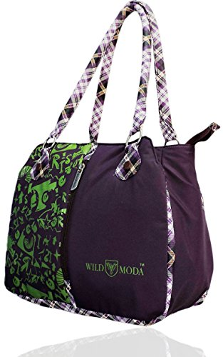 WildModa Womania Women\'s Shoulder Bag Purple