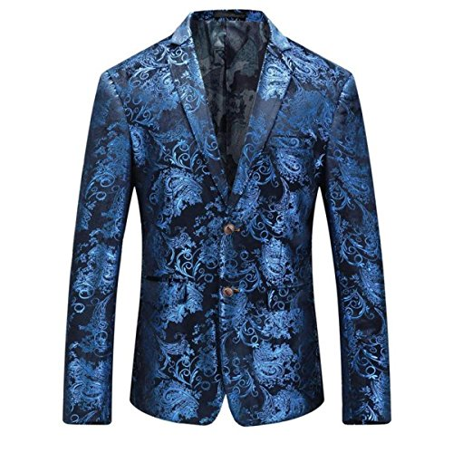 Uomo Moderno da Giacca L1 Wedding Business suit uomo Blazer Relaxation xZwFOT0vqw