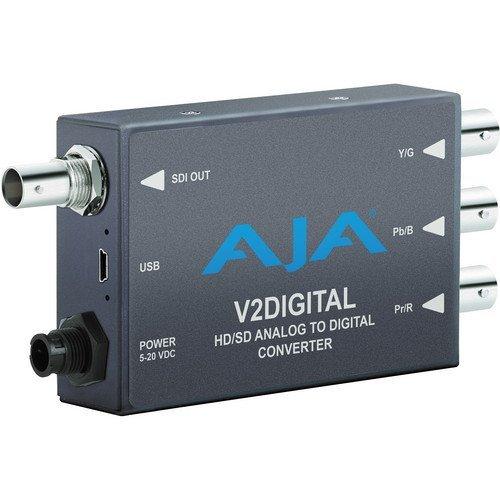 AJA V2Digital Component/Composite Analog to HD/SD-SDI Mini-Converter