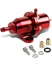 DNA Motoring FPR-T119-RD Fuel Pressure Regulator [For 88-01 Civic Si/CRV/Integra/NSX],Red