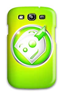 High Impact Dirt/shock Proof Case Cover For Galaxy S3 (awkward Robot)