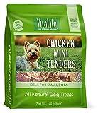 VitaLife Jerky Dog Treats - All Natural, Chicken Mini Tenders, 170g