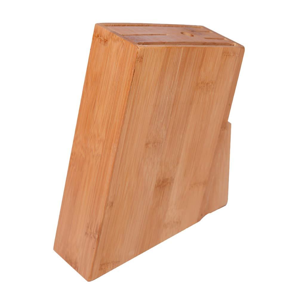 Compra BESTONZON Bloque para Cuchillos de Bambú Organizador ...