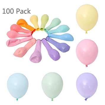 100 unids 10 Pulgadas Macaron Color Látex Globo Decoración ...