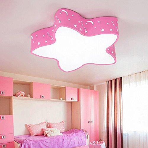 Lilamins Star Children\'S Room Ceiling Light Blue Kids Rooms Light ...