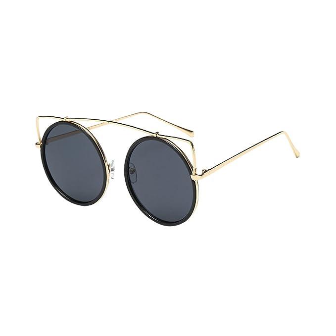 GoGou Männer Polarized Designer Sport Sonnenbrillen für Baseball Radfahren Angeln Golf Superlight Frame Nachtsicht Brillen (Black) kseMVN