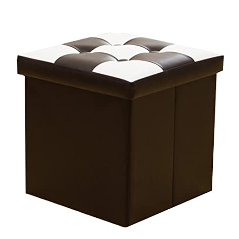 Footstools YXX- Taburete plegable de almacenamiento ...