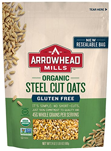 Arrowhead Mills Gluten Free Steel Cut Oats, 24 Ounce ()